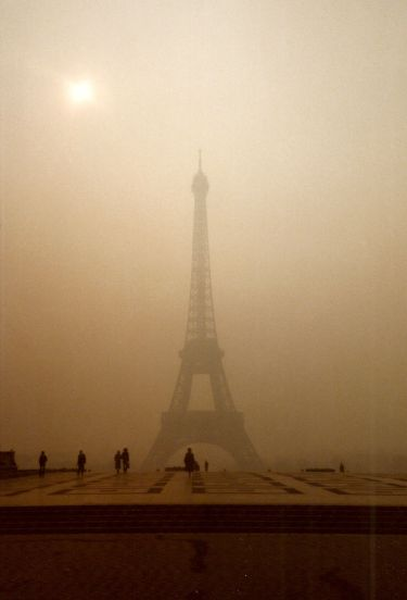 Breathe in the grandeur that is Paris.  March 1984.