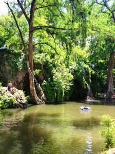 Krause Springs.  Spicewood, TX.