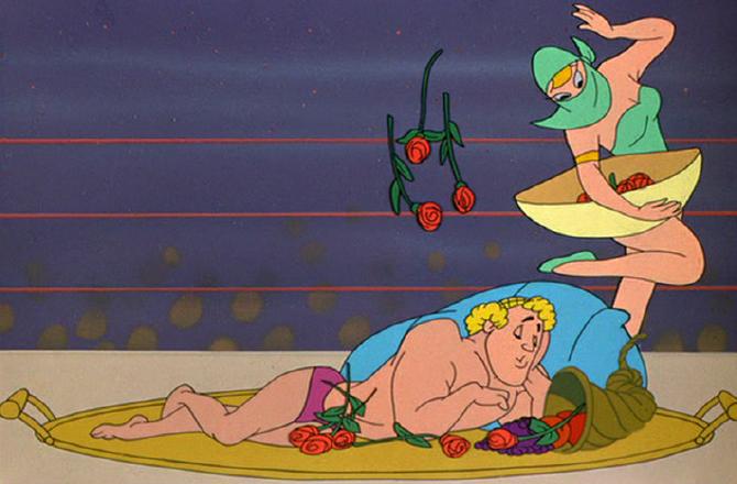 """Ravishing Ronald, from the Warner Bros. cartoon """"Bunny Hugged."""""""