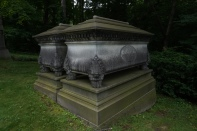 Probably my favorite tomb in the Cemetery.