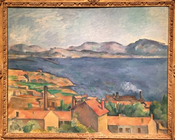 """The Bay of Marseilles , seen from Estaque"