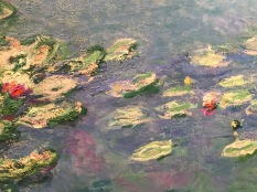 "details, ""Water Lilies"" by Claude Monet"