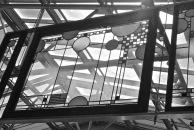 Frank Lloyd Wright Window at Art Institute